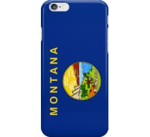 Smartphone Case - State Flag of Montana - Vertical iPhone Case/Skin