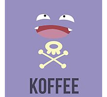 Koffing Koffee (Pokemon) Photographic Print
