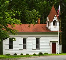 Pleasant Valley Rd Schoolhouse by PineSinger
