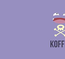 Koffing Koffee (Pokemon) by Awesom3