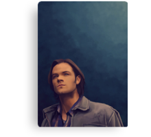 Sam Winchester Canvas Print