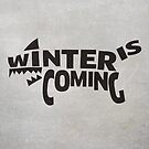 House Stark, Winter Is Coming by Jack Howse