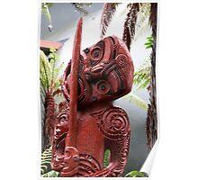 Rotorua Totem Poster