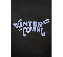 House Stark, Winter Is Coming 2 Photographic Print