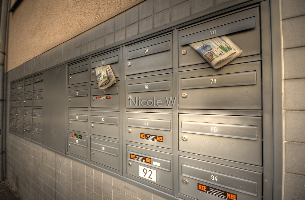 letterboxes by Nicole W.