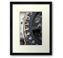 Gearing Up Framed Print