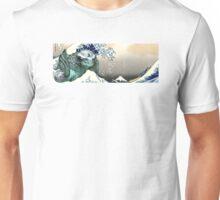 "Great Kaiju Off Kanagawa ""神奈川大怪獣裏"" mode Leatherback Unisex T-Shirt"