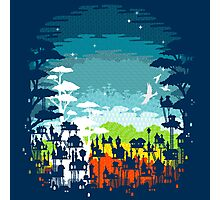 Rainforest city Photographic Print