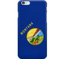 Smartphone Case - State Flag of Montana - Diagonal iPhone Case/Skin