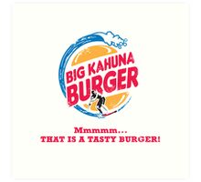 Big Kahuna Burger Art Print