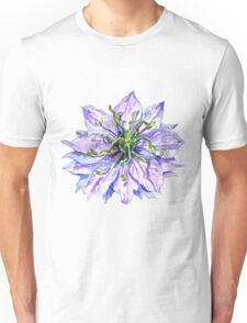 Light Mauve Flower  Unisex T-Shirt