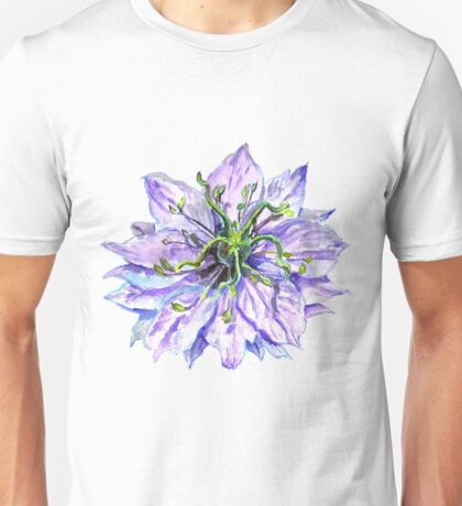 Light Mauve Flower  Unisex T-Shirt