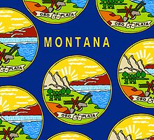 Smartphone Case - State Flag of Montana - Horizontal II by Mark Podger