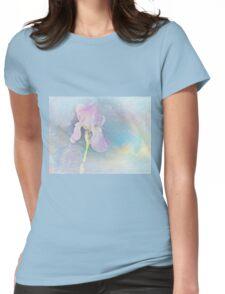 Pastel Iris Womens Fitted T-Shirt