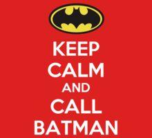 Keep Calm And Call Batman Kids Clothes