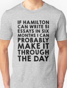 If Hamilton can do it, I can T-Shirt