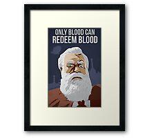 Bioshock Infinite - Prophet Comstock Propaganda Framed Print