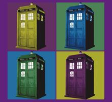 Pop Art Tardis  by dpmoon