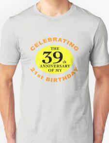 Funny 60th Birthday (Anniversary) T-Shirt