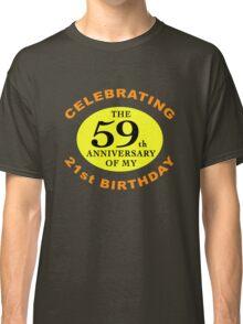 Funny 80th Birthday (Anniversary) Classic T-Shirt