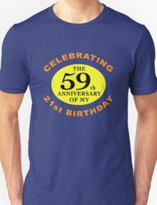 Funny 80th Birthday (Anniversary) Unisex T-Shirt