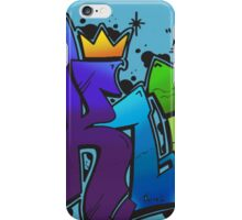 King Multicolour (Queen Shirt Coming Soon!) iPhone Case/Skin