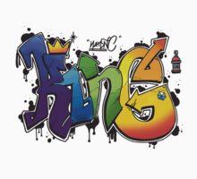 King Multicolour (Queen Shirt Coming Soon!) Kids Tee