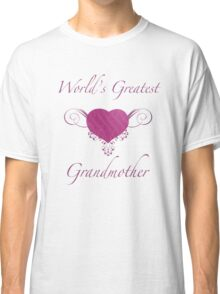 World's Greatest Grandmother (Heart) Classic T-Shirt
