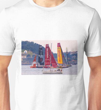 Volvo Ocean Race departure from Lisbon. 7 June 2015 . 2.00 p.m. Unisex T-Shirt