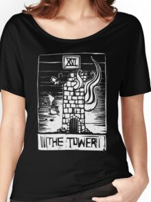 The Tower - Tarot Cards - Major Arcana Women's Relaxed Fit T-Shirt