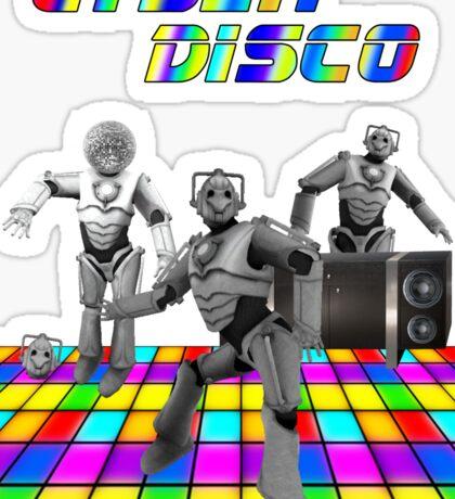 Cyber Disco Sticker