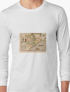 Old map Long Sleeve T-Shirt
