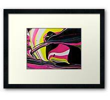 Pink Penguin Framed Print