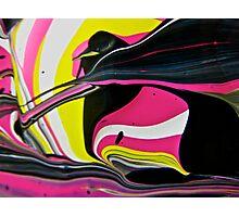 Pink Penguin Photographic Print