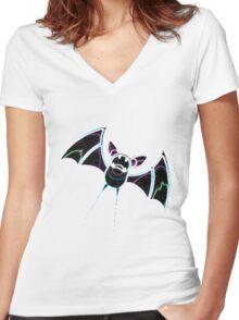 Zubat Women's Fitted V-Neck T-Shirt