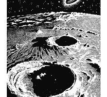 UFO Moon Flyby by ori-STUDFARM