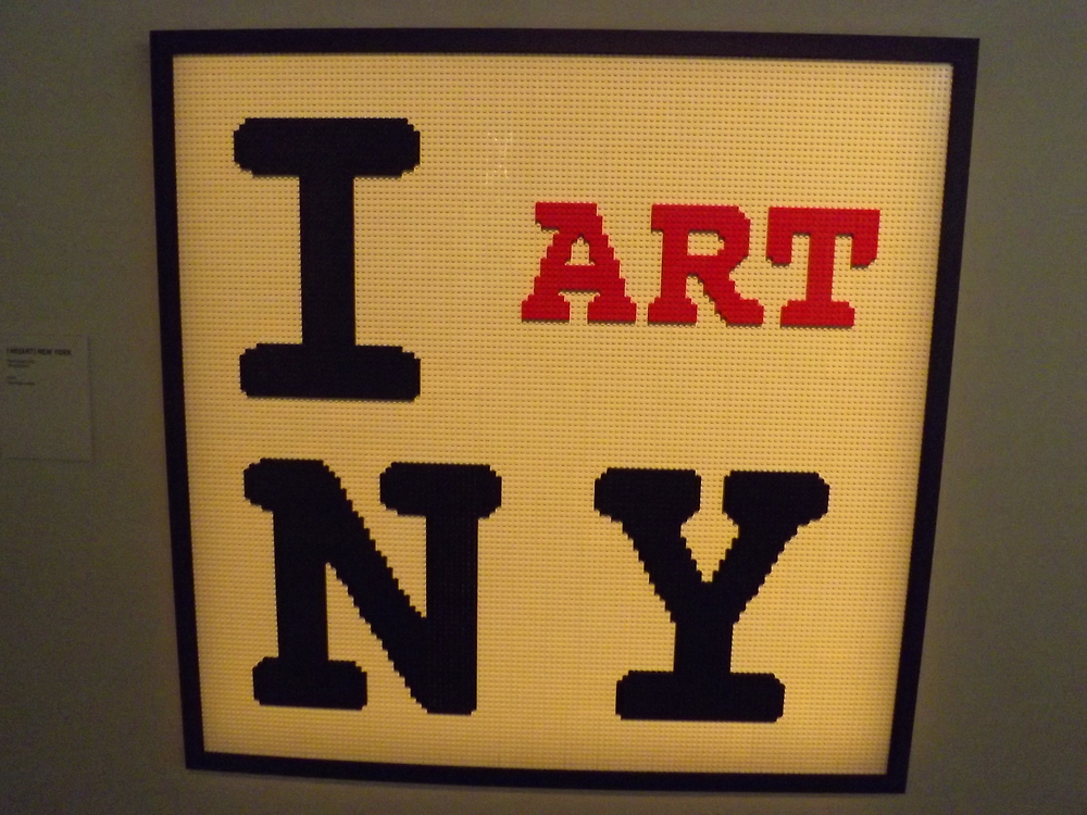 """Lego, """"I Heart New York"""",  Art of the Brick Exhibition, Discovery Times Square, New York City, Nathan Sawaya, Artist by lenspiro"""