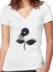 Bellsprout Women's Fitted V-Neck T-Shirt