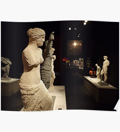 Lego Sculptures, Art of the Brick Exhibition, Discovery Times Square, New York City, Nathan Sawaya, Artist Poster