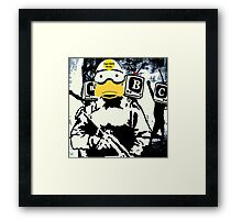 Truth decay Framed Print