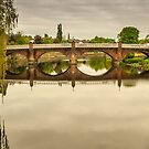 Structure, Buccluech street bridge, Dumfries Scotland by Hugh McKean