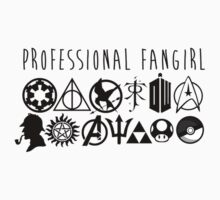 Professional Fangirl v1 Kids Clothes