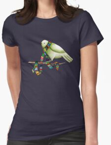 New Scarf Womens Fitted T-Shirt