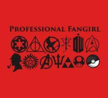Professional Fangirl v3 Kids Clothes