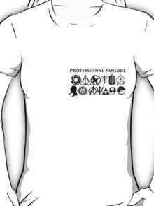 Professional Fangirl v3 T-Shirt