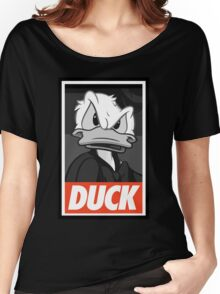 DUCK (Donald Duck) Women's Relaxed Fit T-Shirt