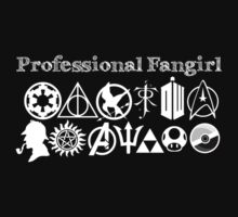Professional Fangirl v2 Kids Clothes