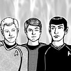 Star Trek Trio by Stacie Arellano