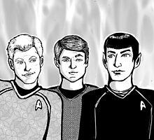Star Trek Trio by Stacie Arellano