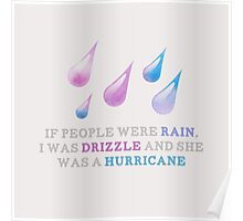 Drizzle Poster